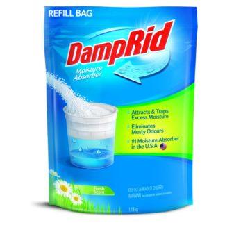 DampRid Fresh Scent Moisture Absorber Crystals Refill Bag