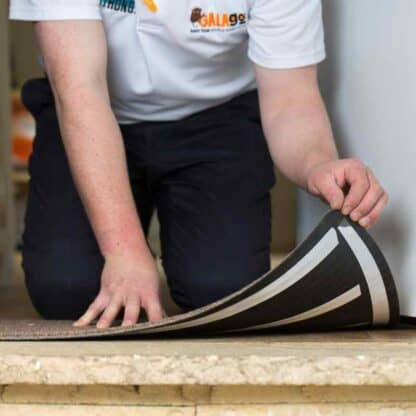 Galago double sided tape is ideal for sticking carpet down