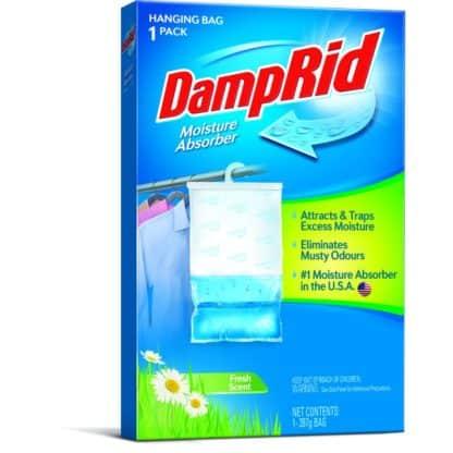 DampRid Fresh Scent Hanging Wardrobe Moisture Absorber