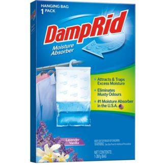 DampRid Lavender Vanilla Hanging Wardrobe Moisture Absorber