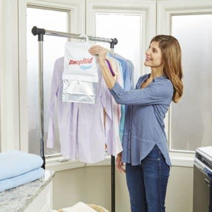 DampRid hanging wardrobe moisture absorber