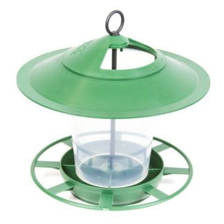Green Hanging Lantern Bird Feeder