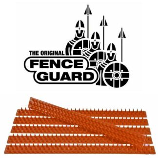 3m of Terracotta Fence Guard Security Spike Strips