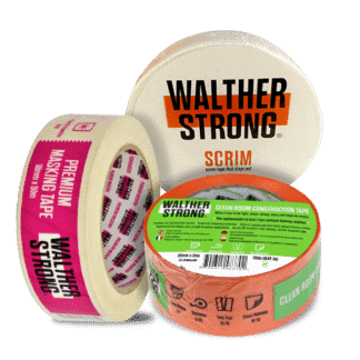 Walther Strong Building and Decorating Tapes
