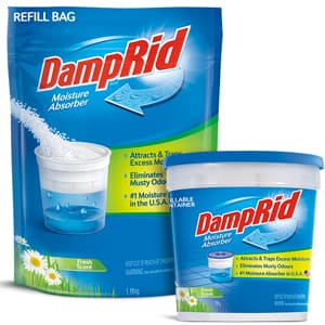 SAVE 25% OFF a DampRid Fresh Scent Moisture Absorber & Refill Bag